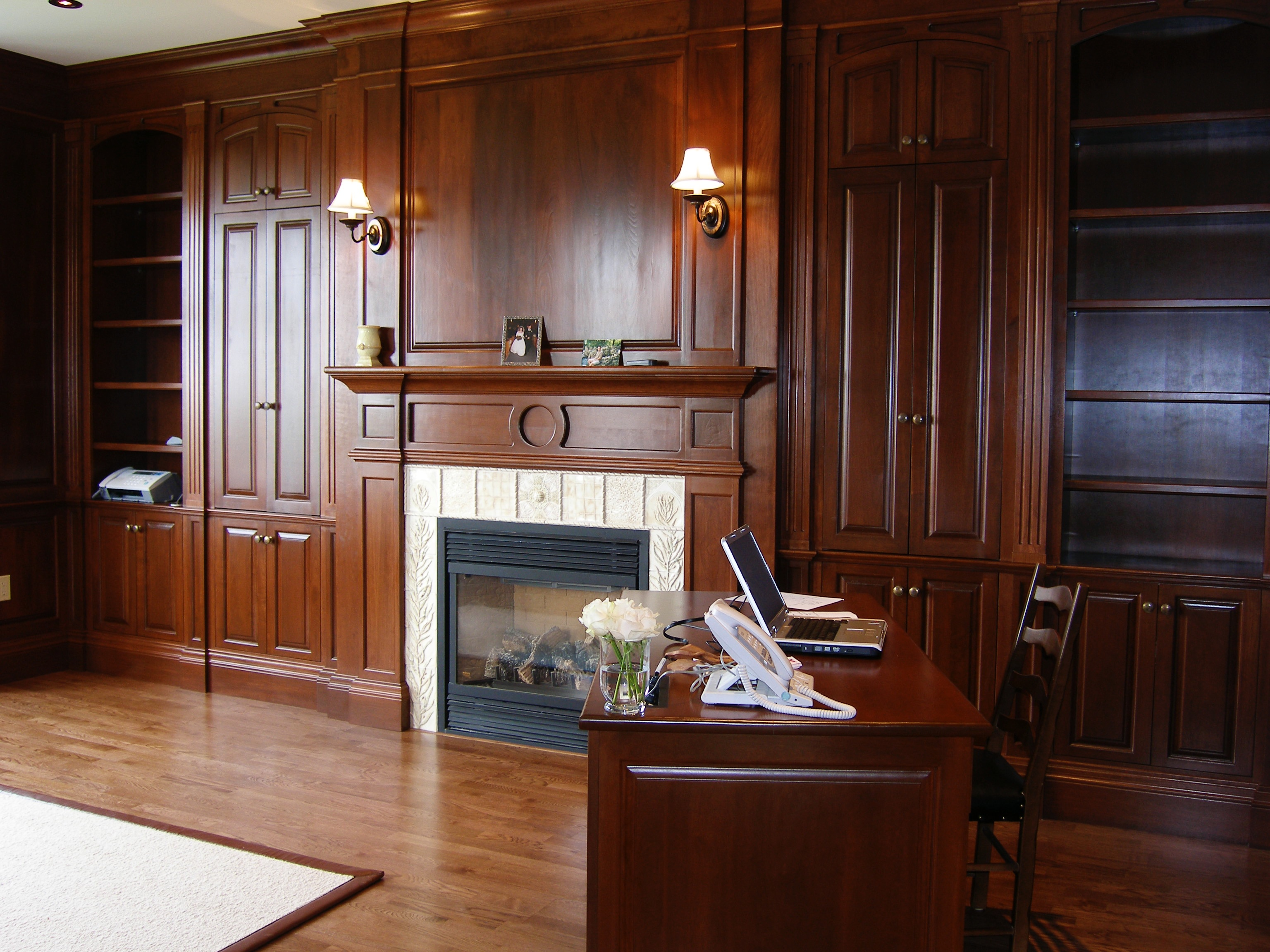 Complete  Custom Office Panelling