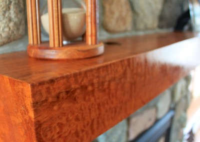 A Woodcarved Mantlepiece