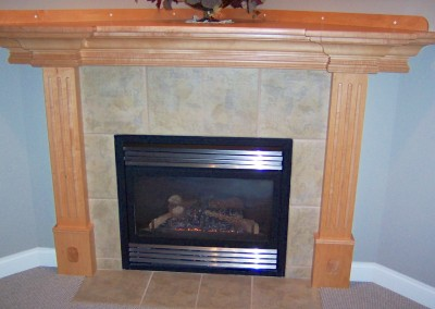 A Fireplace and Mantlepiece