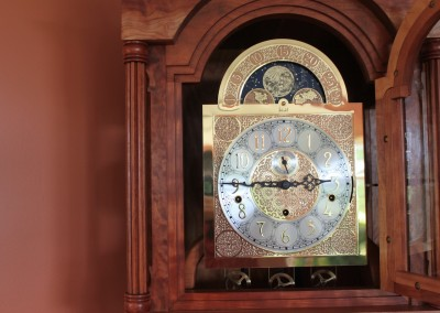 The Handcarved Grandfather Clock
