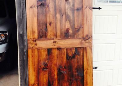 A Rolling Barn Door for a Bedroom.