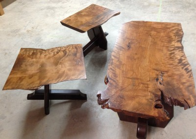 Birch and Elm Coffee Table Set